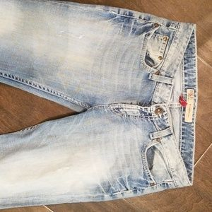 Bke Sierra boot cut jeans size 28 by 31.5